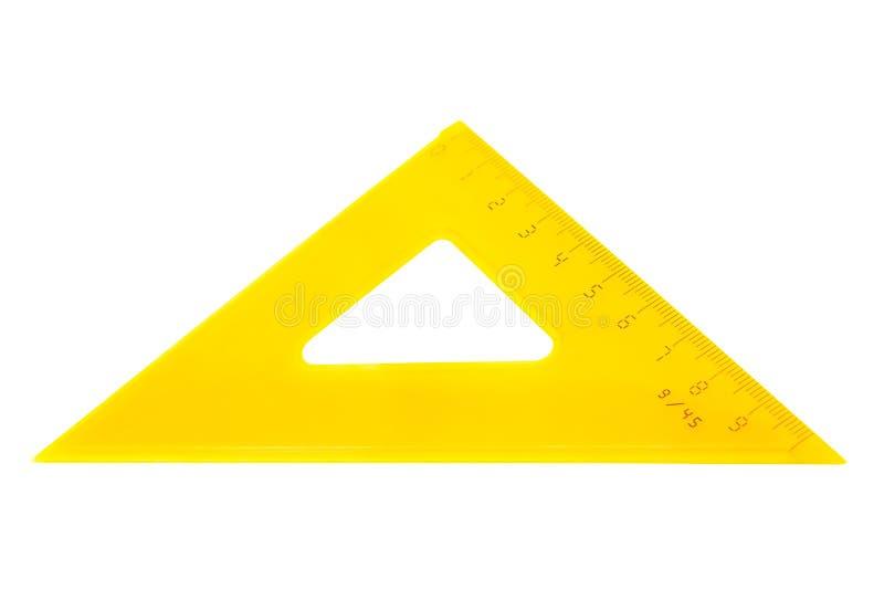 Modern yellow triangle