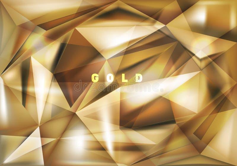 Moderna överlappande trianglar geometrisk abstrakt bakgrund royaltyfri illustrationer