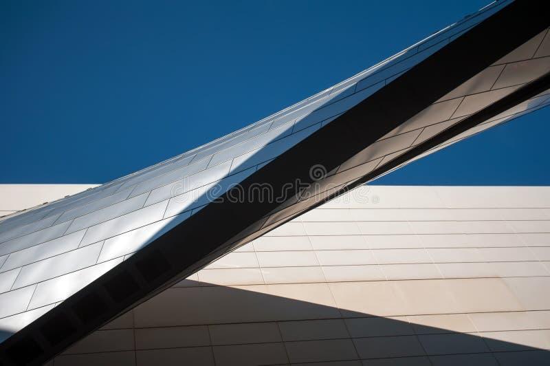 Moderna arkitektoniska beståndsdelar arkivfoto