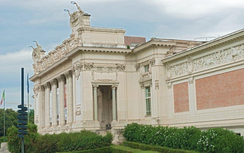 Moderna Art National Museum i Rome Italien arkivfoton
