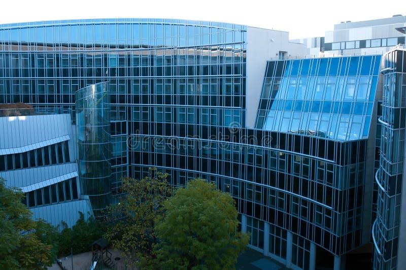 moderna berlin byggnader royaltyfri foto