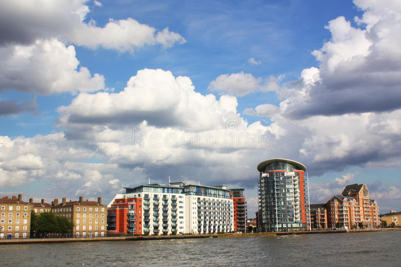 moderna byggnader royaltyfria foton