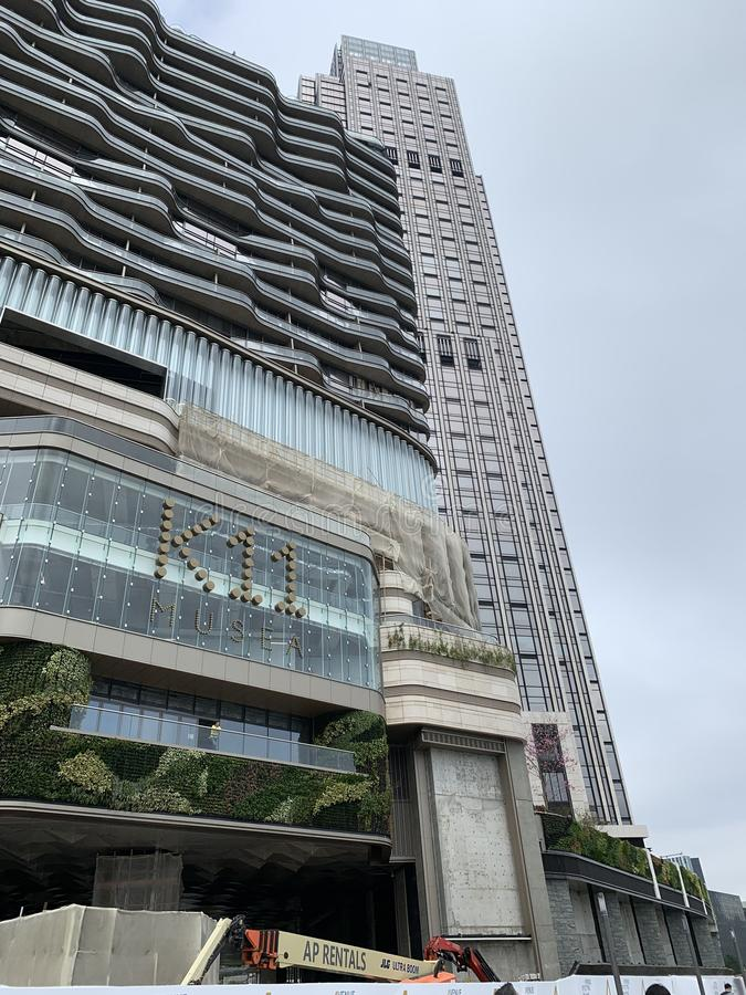Moderna byggnader K11 arkivfoton