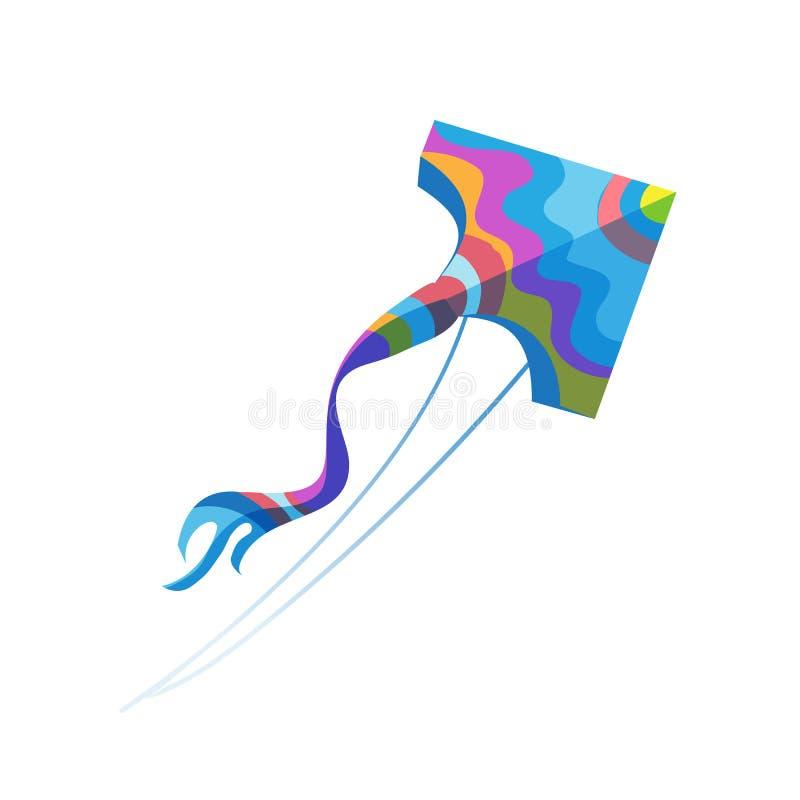 Moderna färgrika leksaker för barn` s Sommar ferie, semester, går med lekar royaltyfri illustrationer