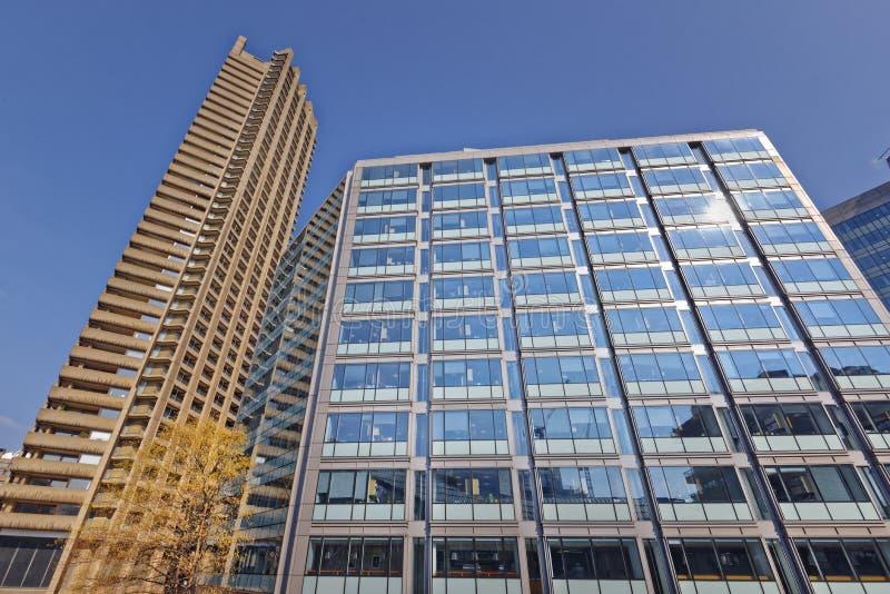 Moderna kontor och lägenheter royaltyfri foto