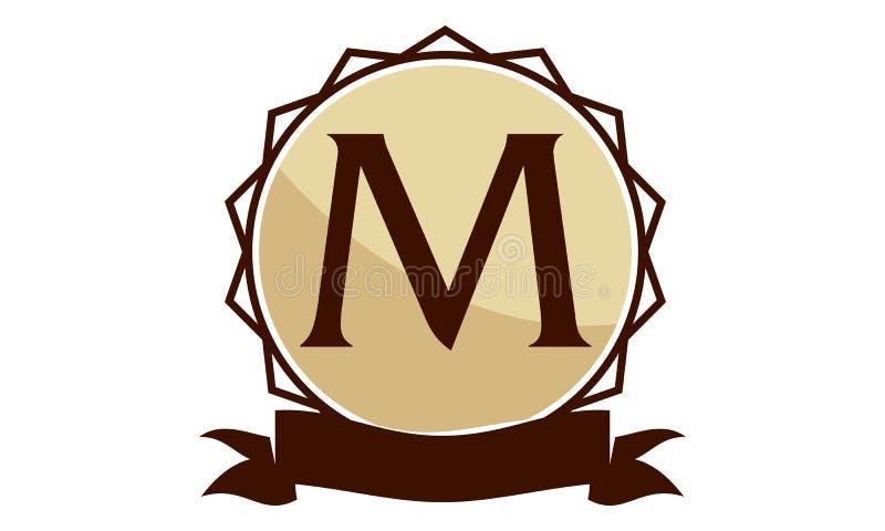Moderna Logo Solution Letter M Vektor Illustrationer ...