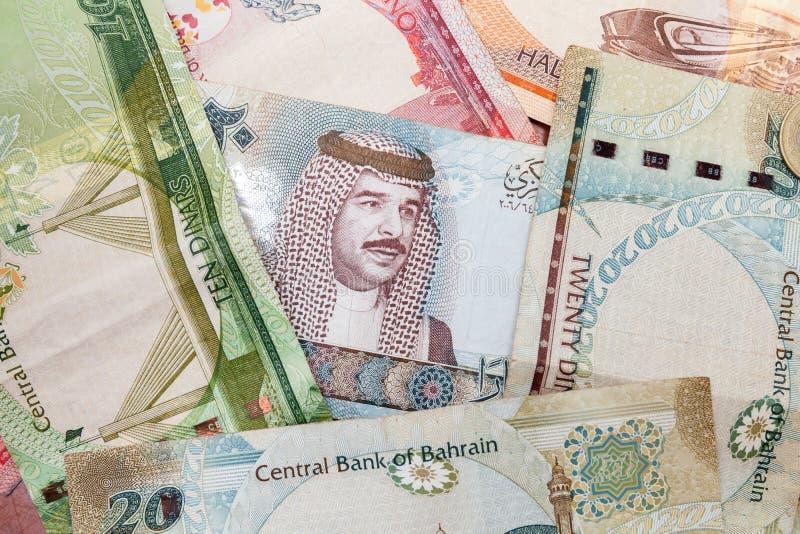 Moderna sedlar för Bahrain dinar arkivbild