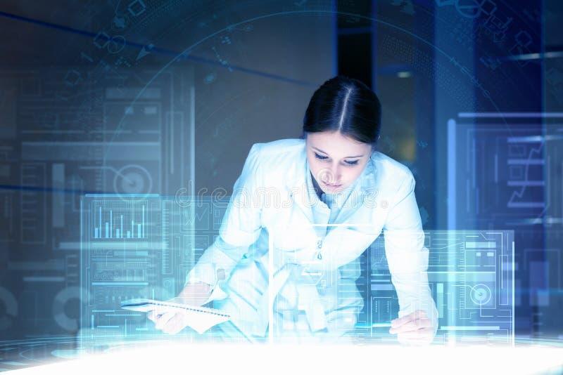 Moderna teknologier i medicin arkivbilder