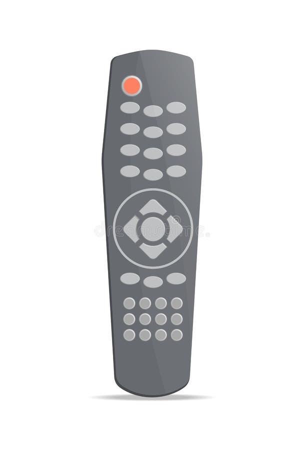 Moderne afstandsbediening voor elektronikapictogram royalty-vrije illustratie