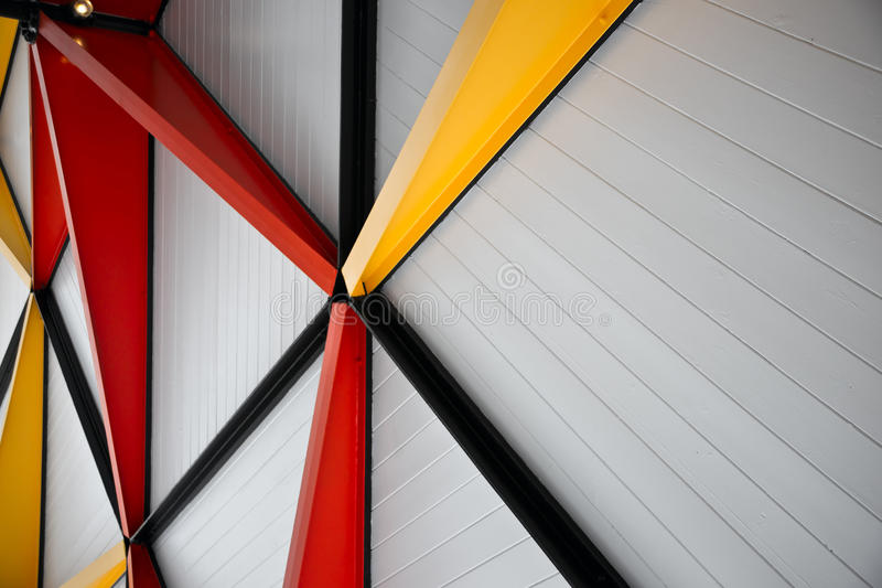 Moderne Architecturale Abstracte Achtergrond stock afbeelding