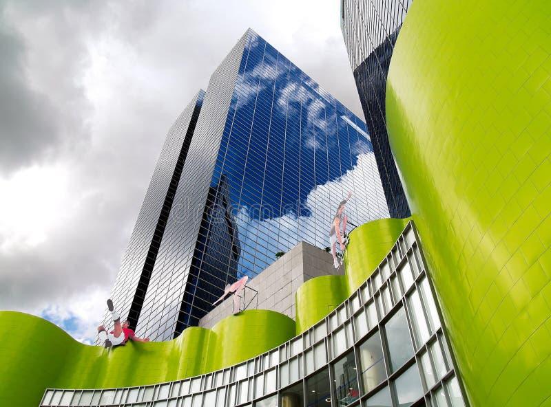 Moderne Architecturale Vormen royalty-vrije stock afbeeldingen