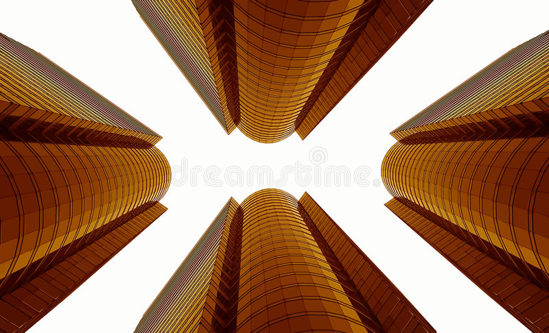 Moderne Architectuur vector illustratie