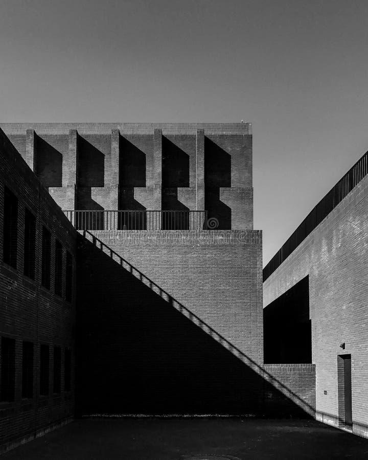 Moderne architectuur royalty-vrije stock afbeelding