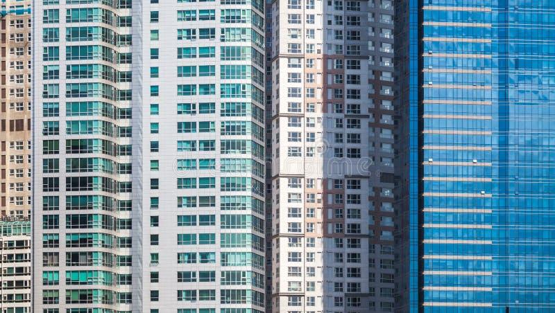 Moderne architectuur abstracte achtergrond royalty-vrije stock foto's