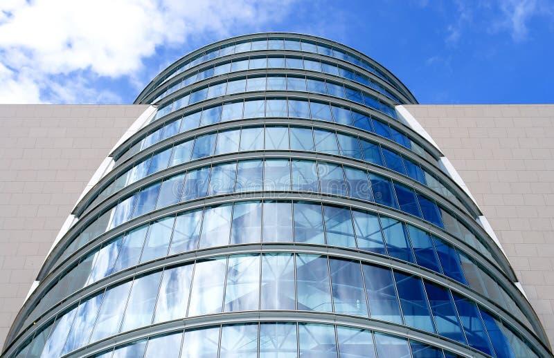 Moderne architectuur in Dublin royalty-vrije stock fotografie