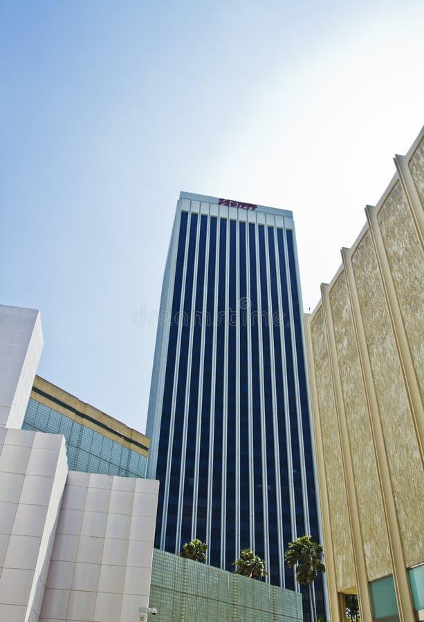 Moderne Architectuur in Los Angeles royalty-vrije stock afbeeldingen