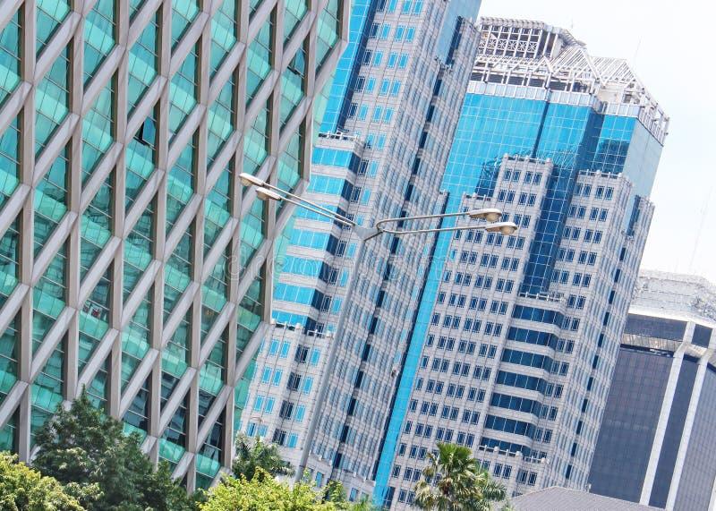 Moderne architectuur moderne gebouwen royalty-vrije stock foto's