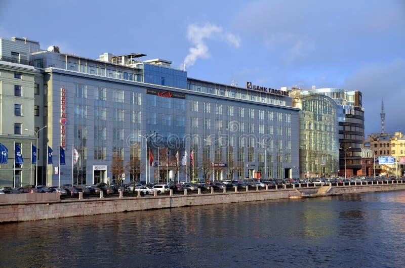 Moderne architectuur van St. Petersburg royalty-vrije stock foto