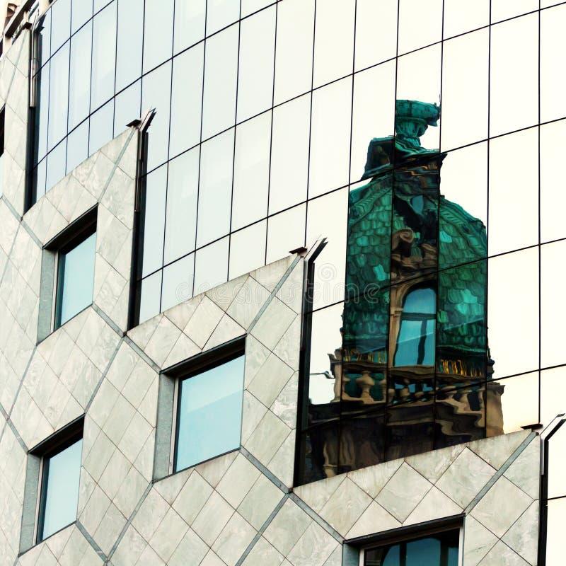 Moderne Architectuur van Wenen royalty-vrije stock afbeelding