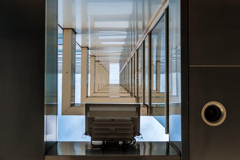 Moderne architectuurbogen stock fotografie
