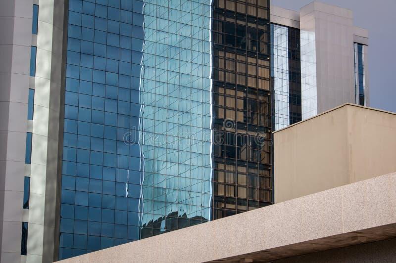 Moderne architectuurbuitenkant royalty-vrije stock foto's