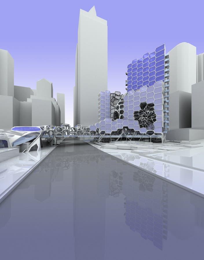 Moderne Architektur stock abbildung
