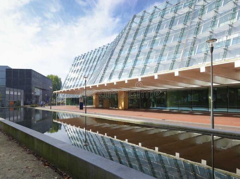 Moderne Architektur in Amersfoort, die Niederlande lizenzfreie stockfotos