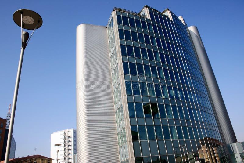 Moderne Architektur, aufbauende Sonderkommando 25 _ Büros viertelt. Mailand stockfotos