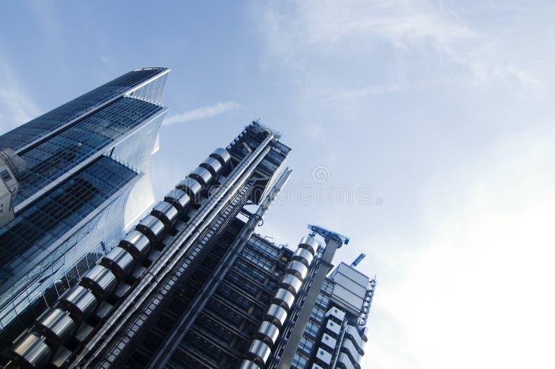 Moderne Architektur in der Stadt von London lizenzfreie stockfotografie
