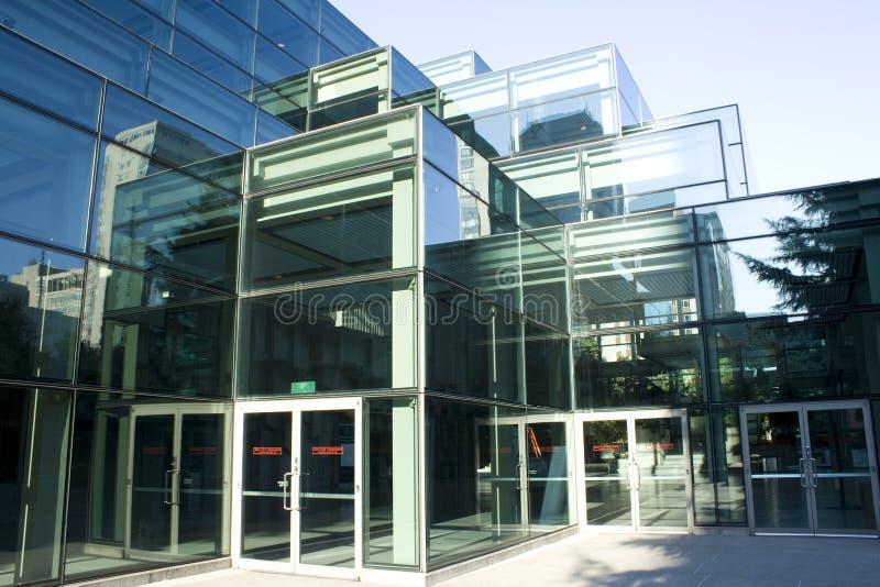 Moderne Architektur, a-Gebäude des Glases stockfotos