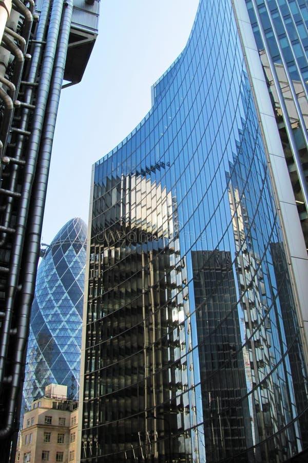 Moderne architektur in london stockbild bild von farbe - London architektur ...