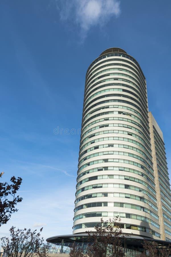 Moderne Architektur in Rotterdam stockbild