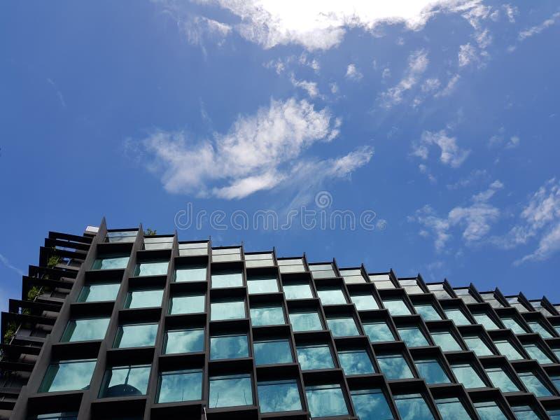 Moderne Architektur, Singapur stockfotografie