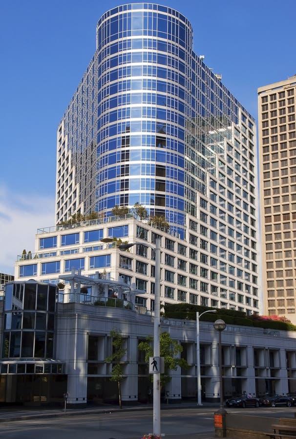 Moderne Architektur in Vancouver lizenzfreies stockfoto