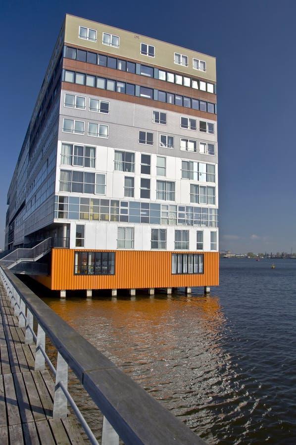 Moderne Architektur von Amsterdam lizenzfreie stockfotos