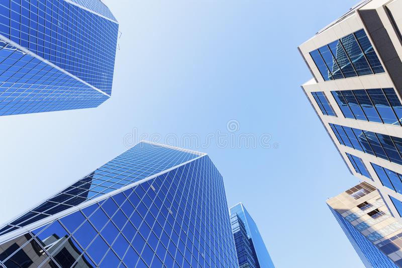 Moderne Architektur von Regina lizenzfreie stockfotografie