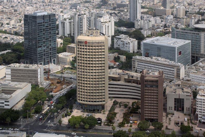 Moderne Architektur von Tel Aviv lizenzfreies stockfoto