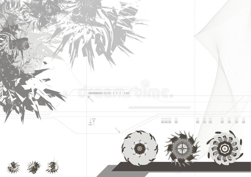 Moderne Auslegung-Hintergrund lizenzfreie abbildung