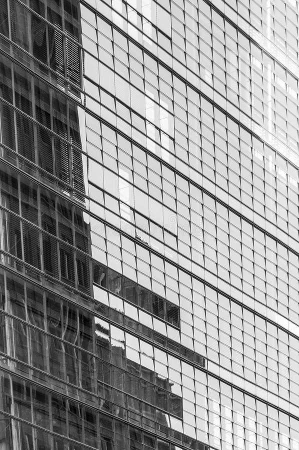 Moderne Bürohausfassade lizenzfreies stockbild