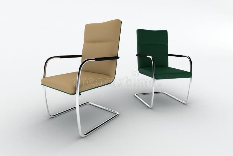 Moderne Bürostühle moderne bürostühle stock abbildung illustration einfach 12716964