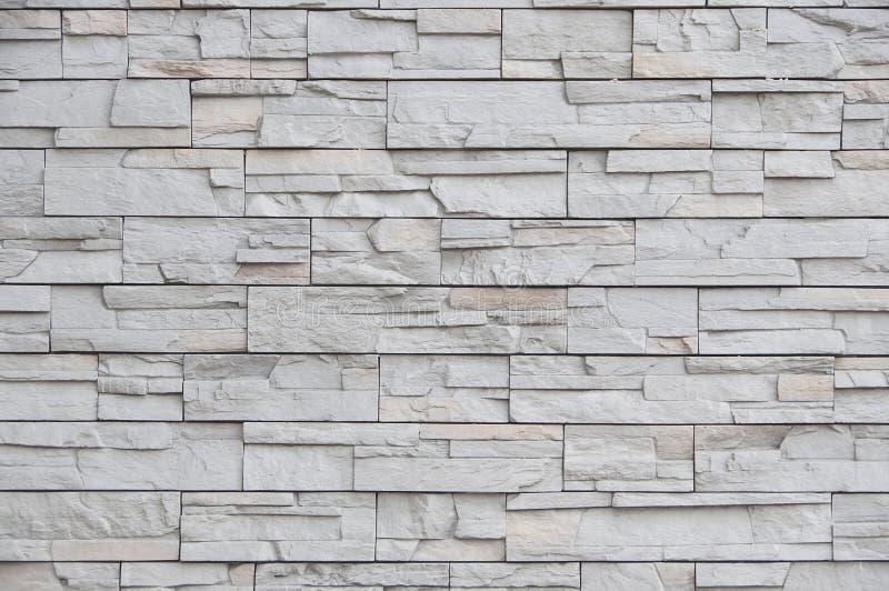 Moderne Backsteinmauer, Plattensteinmuster als Hintergrund stockfoto