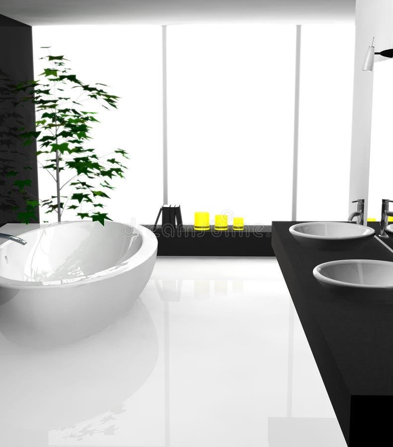 Moderne badkamers stock illustratie afbeelding bestaande uit elegantie 21340276 - Badkamer meubilair ontwerp eigentijds ...