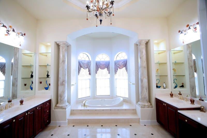Moderne badruimte stock afbeelding