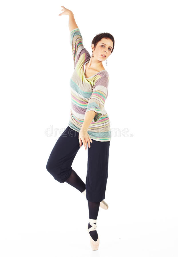 Moderne balletdanser royalty-vrije stock foto