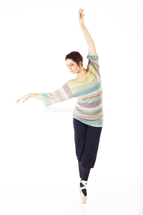 Moderne balletdanser stock afbeeldingen