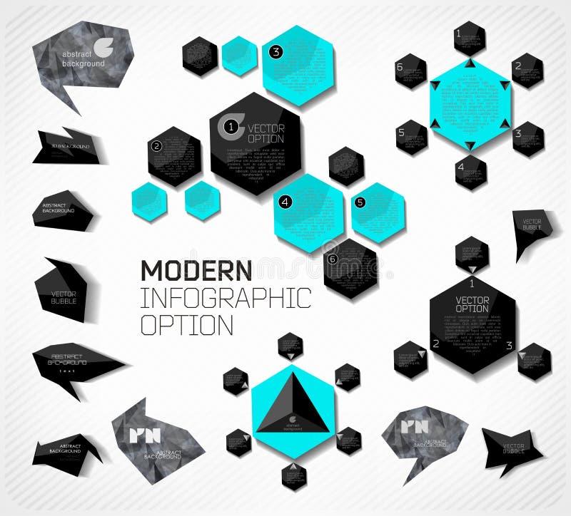 Moderne bedrijfsbel stock illustratie