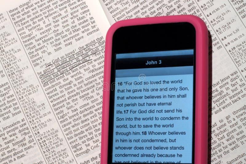 Moderne Bijbel stock foto's