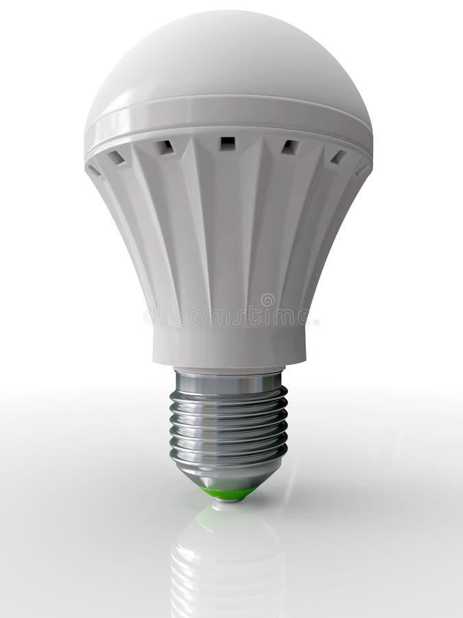 Moderne Birne für Beleuchtung lizenzfreie abbildung