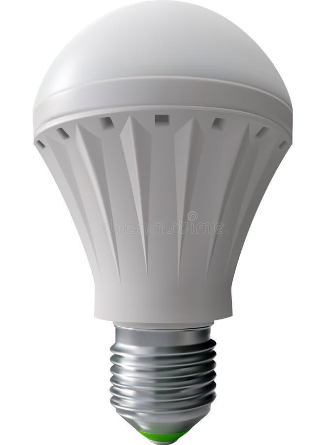 Moderne Birne für Beleuchtung stock abbildung