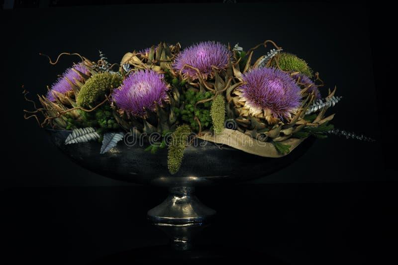 Moderne bloemsamenstelling royalty-vrije stock foto